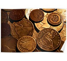 Old Coins Poster