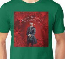 Happy Holidays Sassenach Unisex T-Shirt