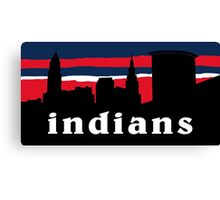 Indians Canvas Print