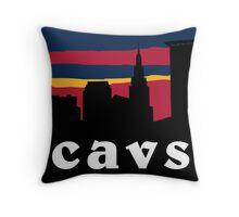 Cavs Throw Pillow