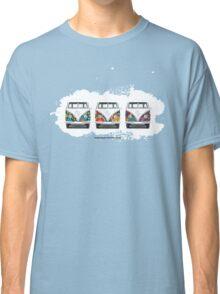 Flower Power Not Horse Power Classic T-Shirt
