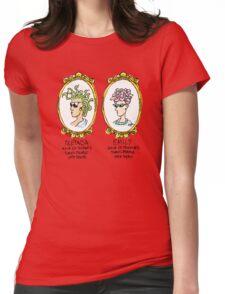 Medusa Vs. Emily Womens Fitted T-Shirt