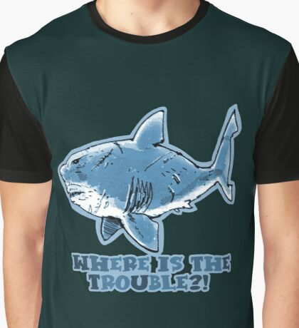 great white shark the problem solver  Graphic T-Shirt