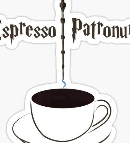 Espresso Patronum  Sticker