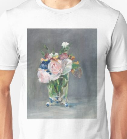 Flowers in a crystal vase Unisex T-Shirt