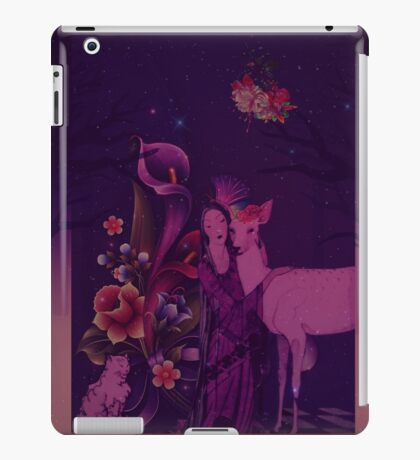 Once Upon A Purple Time iPad Case/Skin