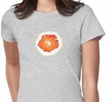 orange slice similar to scrambled eggs,  omelette Womens Fitted T-Shirt