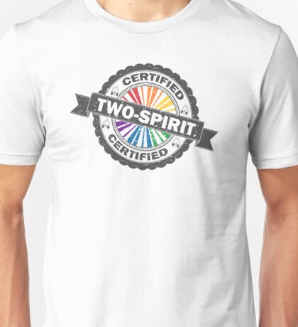 Certified Two-Spirit Stamp Unisex T-Shirt