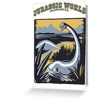 JURASSIC WORLD.... 150,000,000 B.C. !! Greeting Card