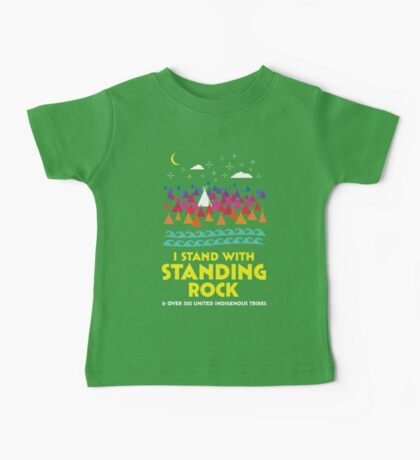 Stand With Standing Rock Shirt Baby Tee