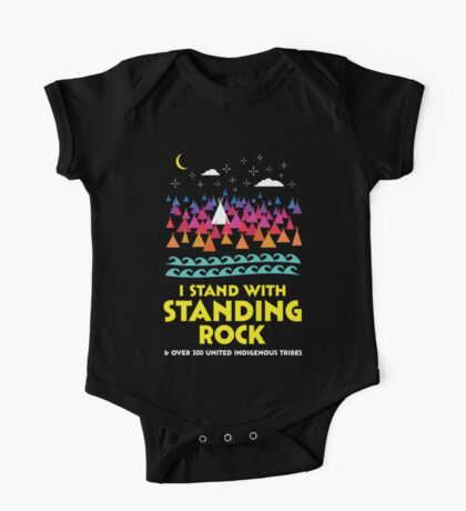Stand With Standing Rock Shirt One Piece - Short Sleeve
