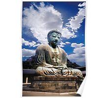 The Great Buddha at Kamakura in Japan Poster