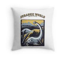 JURASSIC WORLD.... 150,000,000 B.C. !! Throw Pillow