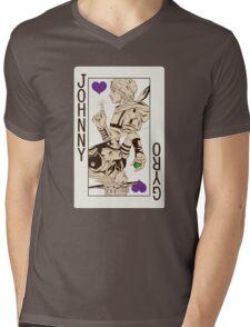 Johnny Joestar - King of Hearts Mens V-Neck T-Shirt