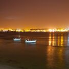 Lisbon seen from the other side of the river. Lisbon is known as The City of Light.  by terezadelpilar ~ art & architecture