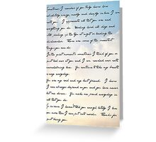 Thanks for being you - spouse Greeting Card