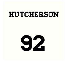 Josh Hutcherson Jersey Art Print