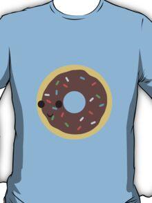 Cute Chocolate Glazed donut with sprinkles T-Shirt