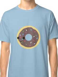 Cute Chocolate Glazed donut with sprinkles Classic T-Shirt