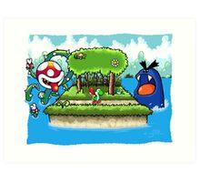 A Yoshi's Story Art Print