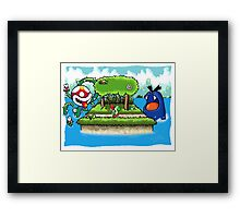 A Yoshi's Story Framed Print
