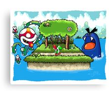 A Yoshi's Story Canvas Print