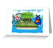 A Yoshi's Story Greeting Card