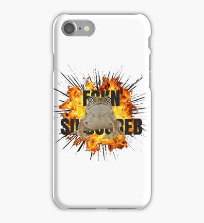 PEWDIEPIE SLIPPY FCKN SBSCRB iPhone Case/Skin