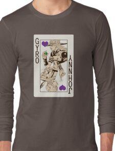 Gyro Zeppeli - Jack of Hearts Long Sleeve T-Shirt