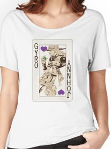 Gyro Zeppeli - Jack of Hearts Women's Relaxed Fit T-Shirt
