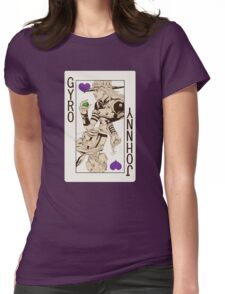 Gyro Zeppeli - Jack of Hearts Womens Fitted T-Shirt