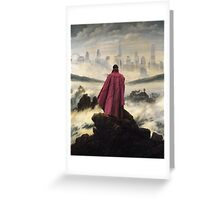 Doctor Strange above the sea of fog Greeting Card