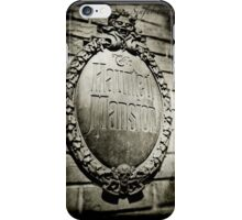 Darkness inside the Mansion iPhone Case/Skin