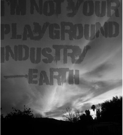 Unsilent Earth - Punk Variation Sticker