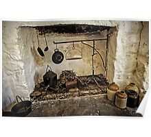 Home Is Where The Hearth Is - Country Kitchen Poster