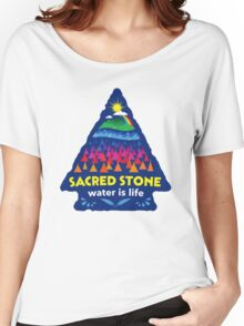 Sacred Stone Shirt Women's Relaxed Fit T-Shirt