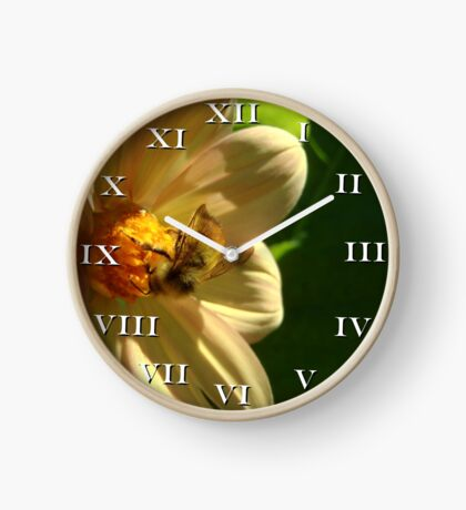 Busy As A Bee Clock