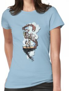 Surrealism Womens Fitted T-Shirt