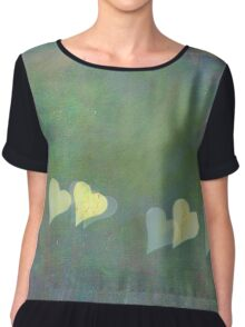 Dreamy Heart Chiffon Top