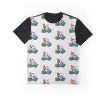 Bandsxxx & SkiMask Cartoon Characters Graphic T-Shirt