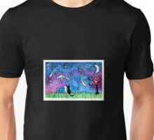 Cat's Night Sky Unisex T-Shirt