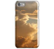 Sunset in the Atlantic Ocean on November 5th 2013 iPhone Case/Skin
