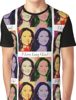 I Love Lucy (Liu) Graphic T-Shirt