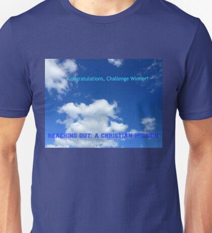 Reaching Out: Challenge Winner Banner Unisex T-Shirt