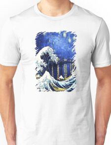 Starry Night Wave Unisex T-Shirt