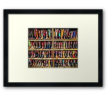Cowboy Bootery - Fort Worth Stockyards Texas USA Framed Print