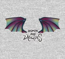 Women Are Dragons Kids Clothes