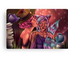 Cheshire Hat Canvas Print