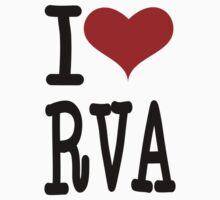 I Love RVA by canossagraphics