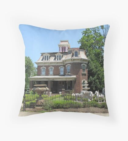 Classy Digs Throw Pillow